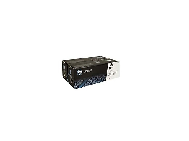 HP 78A Toner CE278AD NEGRO Dual Pack Laser Jet