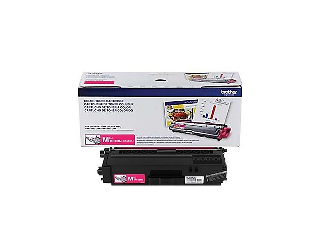 Brother Tn336 M, Toner Magenta 3,500 Página P/Hll8250 Cdn,8350 Cdw