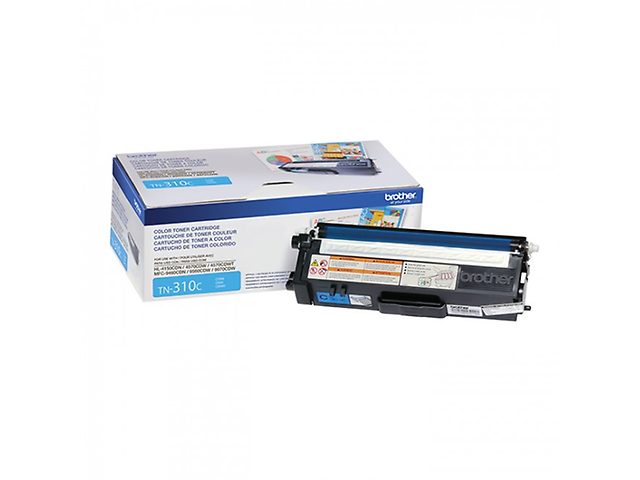 Brother Tn310 C Toner Cyan 1,500 Páginas P/Mcf9970 Cdw - ordena-com