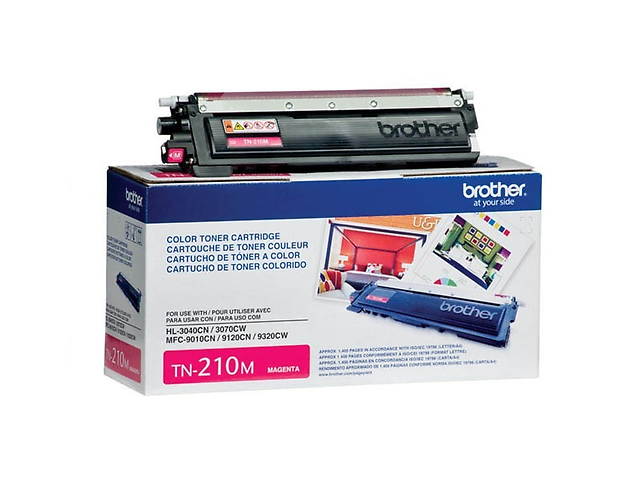 BROTHER TN210M Toner para Serie LED, 1,400 pag, MAGENTA