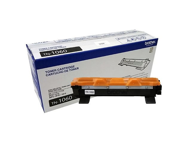 BROTHER TN1060 Toner para HL1112/DCP1512/ MFC1810 1,000 pag, Negro