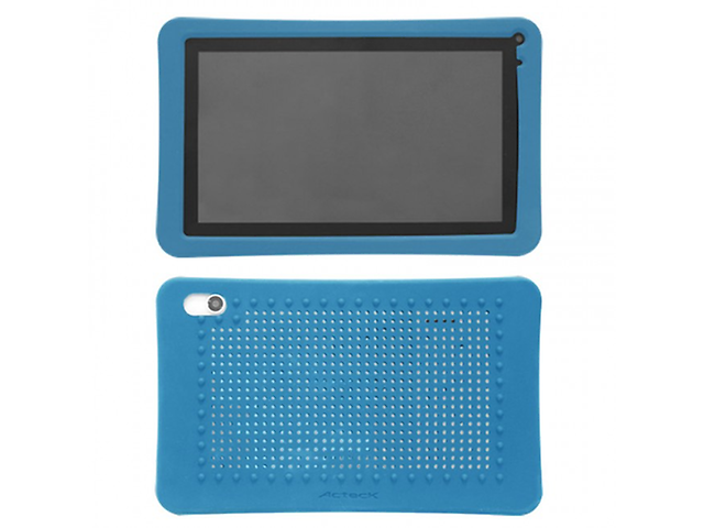 ACTECK MVFP-013, Funda para Tablet Antigolpes Silicon Azul