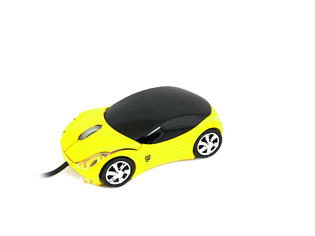 EQUAL MS01 Mouse óptico USB Amarillo