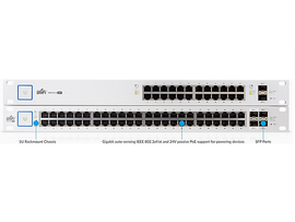 Ubiquiti Networks US-24-250W Switch Administrable UniFi de 24 puertos/ 250 Watts