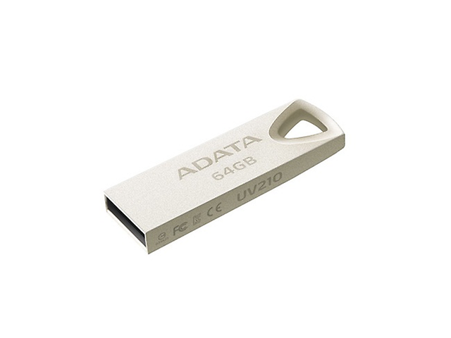 Adata Uv210 Memoria Flash Metalica 64 Gb - ordena-com.myshopify.com