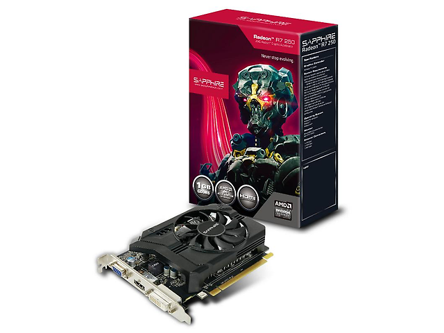 Sapphire R7 250 Tarjeta De Video De 1 Gb. Ddr5, 128 Bit. Pc Ie - ordena-com.myshopify.com