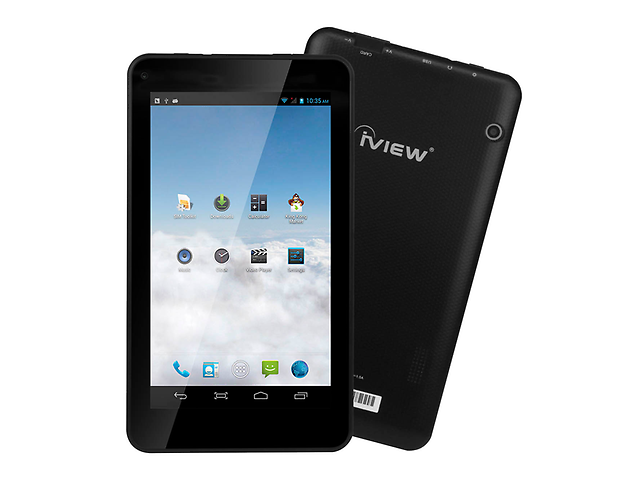 Iview 733 TPC Tablet 7 Pulg. Quadcore A7 8GB Color Negra
