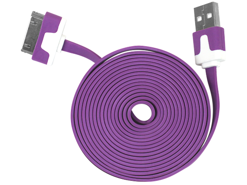 Ginga Cable Usb Para Iphone 4 Morado - ordena-com.myshopify.com