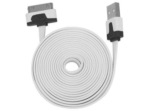 Ginga Cable Usb Para Iphone 4 Blanco - ordena-com.myshopify.com