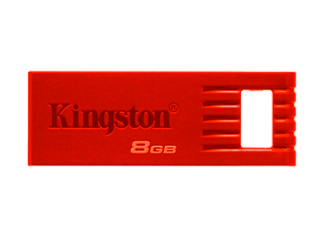 KINGSTON KC-U768G-4CR Memoria FlashDataTraveler SE7, 16GB, USB 2.0, Rojo