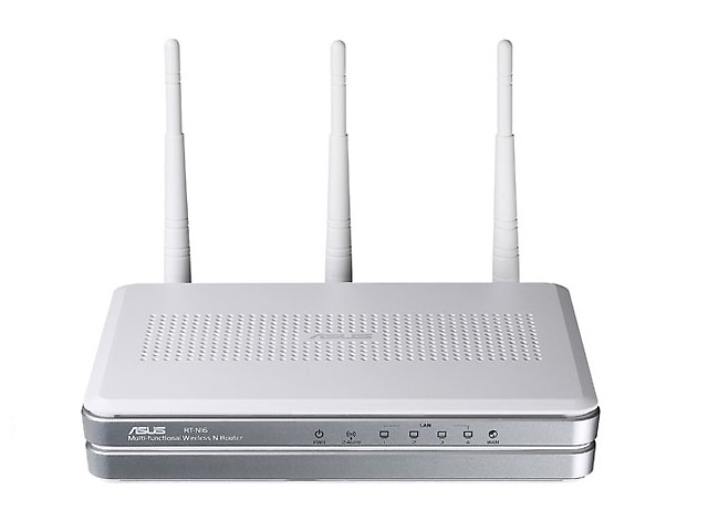 Asus Np Rt N16 Router Inalambrico Gigabit Wireless N 2.4 Ghz 300 Mbps 3 Antenas - ordena-com