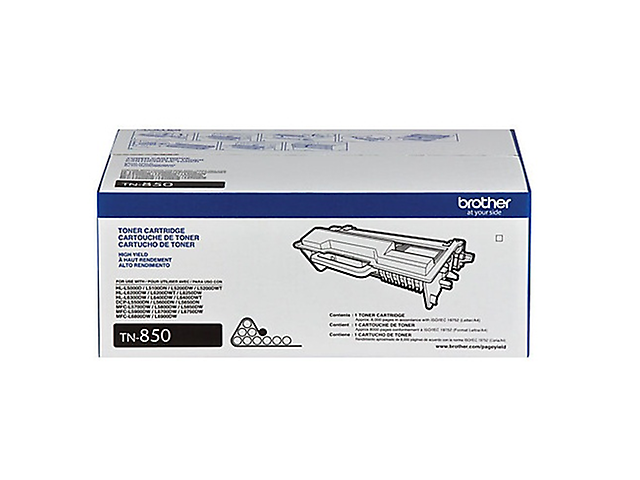 BROTHER TN850 Toner 8,000 Pag/ Negro