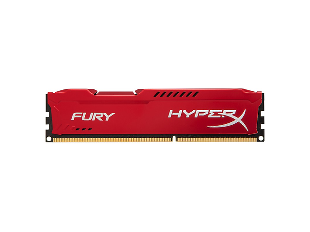 KINGSTON MEMORIA HYPERX FURY DDR3 8GB 1333MHZ RED