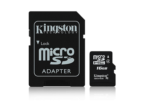 Kingston Sdc4/16 Gb Micro Sd 16 Gb Clase 4 - ordena-com.myshopify.com