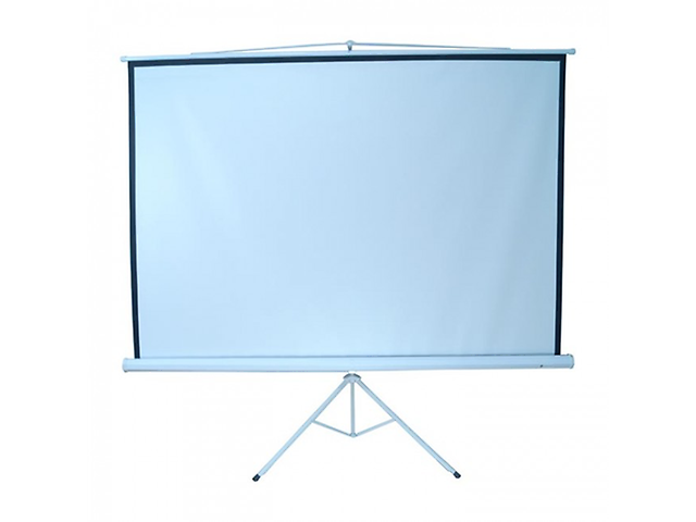 Multimedia Screen MST-244 Pantalla Blanco 96pulg 2.44x2.44m Tripie