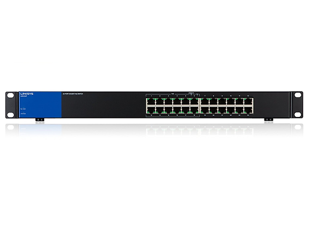 Linksys Lgs124 P Switch Metalico Rack 24 Ptos Gigabit 10 Ptos - ordena-com