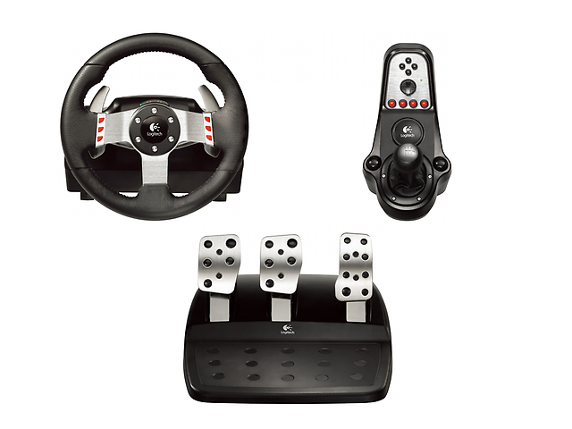 LOGITECH G27 Volante Racing Wheel Para PC/PS2/PS3 941-000045