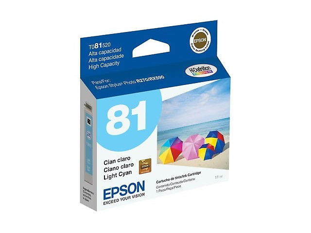 EPSON T081520 Cartucho para 1410/ 1430W, CIAN LIGHT
