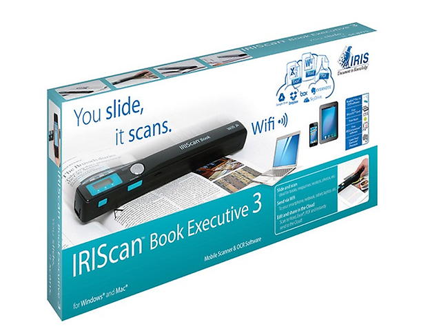 IRIS IRIScan Book 3 Executive Escaner Portatil Color Negro