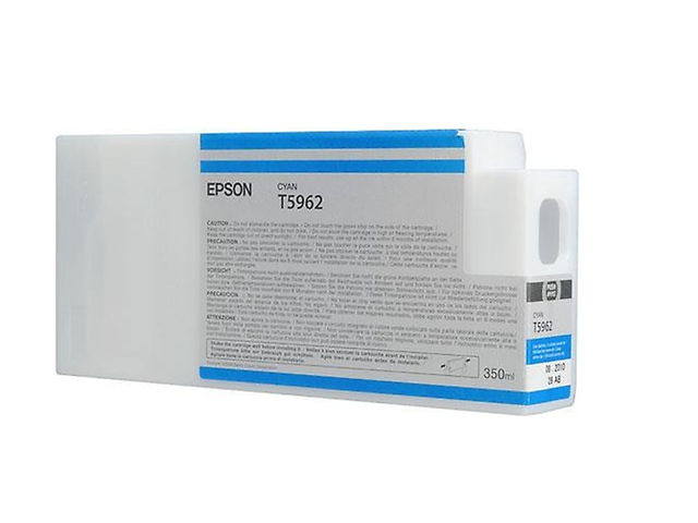 Epson T596200,Cartucho UltraChrome 350ml HDR, Cyan