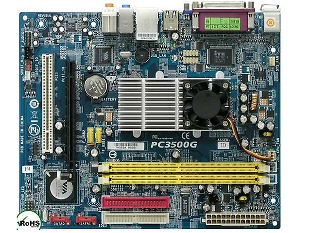 Via Mb Pc3500 G Retail Combo Con Cpu 1.5 Ghz C7 D Integrado Ddr2 - ordena-com.myshopify.com