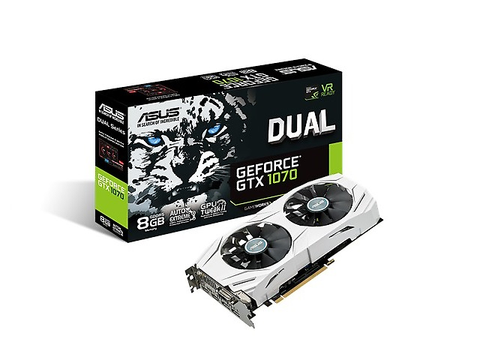 Asus Dual Gtx1070 8 G Tarjeta De Video Nvidia Geforce Gtx 1070
