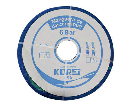 Korei Kmp2 Plus 0 Manguera Plana De Descarga 2 X 100 Mts 4 Bar - ordena-com