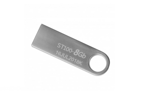 Memoria Usb Stylos Stmusb1 B 8 Gb Flash Color Plata - ordena-com