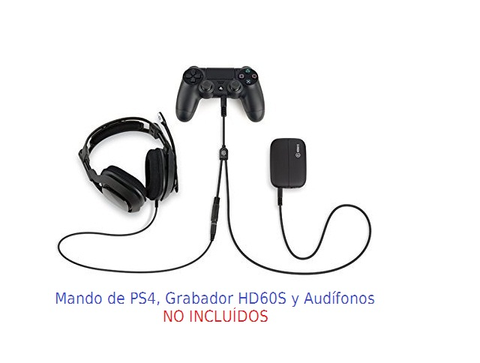Cable Elgato Game Capture Hd60 Para Audio En Ps4 Color Negro - ordena-com.myshopify.com