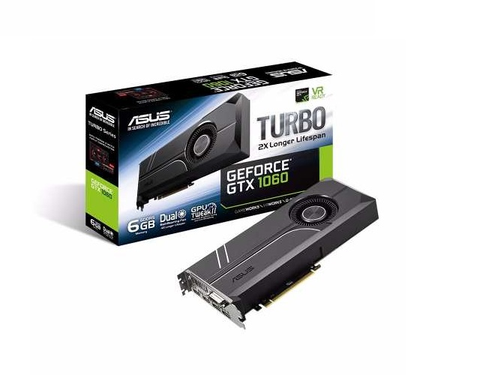 Asus Turbo Gtx1060 6 G Tarjeta De Video 6 Gb Gddr5 192 Bit Dvi Hdmi