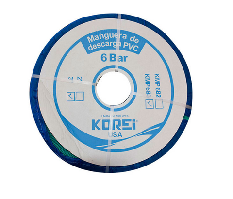 Korei Kmp3 Plus 0 Manguera Plana De Descarga 3 X 100 Mts 4 Bar - ordena-com