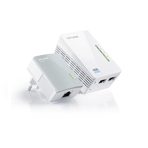 Tp-link Tl-wpa4220kit Extensor Powerline 300mbps Wireless Av