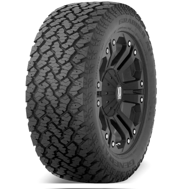 Llanta 27X8.50R14 GENERAL GRABBER AT2 95Q OWL