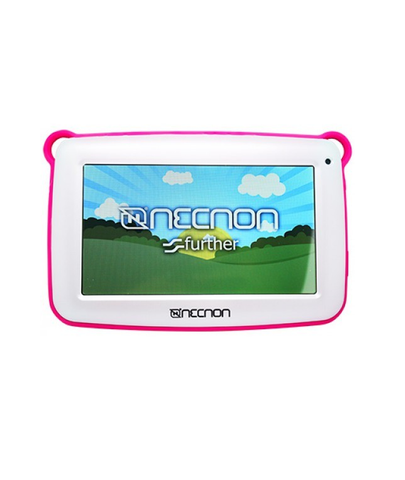 Tablet Necnon Kids 7 Pulg 8 Gb 512 Mb Ram Bluetooth Color Rosa - ordena-com