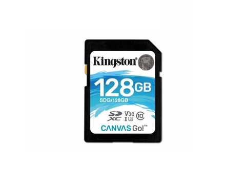 Kingston Canvas Go Memoria Sd Cl10 90 R 45 W Cl10 U3 V30 Sdg/128 Gb - ordena-com.myshopify.com