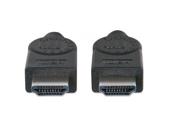 Manhattan 393751 Cable Video Hdmi M M Blindado 2m Mas Ethernet Negro - ordena-com.myshopify.com