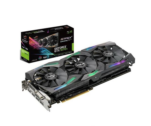 Asus Rog Strix Gtx1070 Ti 8 G Gaming Tarjeta De Video Gddr5 8 Gb Dvi Hdmi - ordena-com