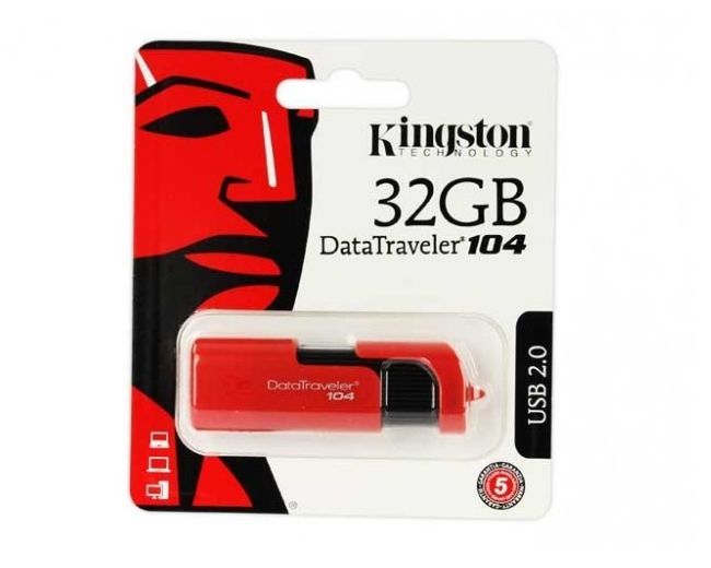 Kingston Dt 104 Memoria Flash 32 Gb Usb 2.0 Kc U1 Z32 6 Sr - ordena-com.myshopify.com