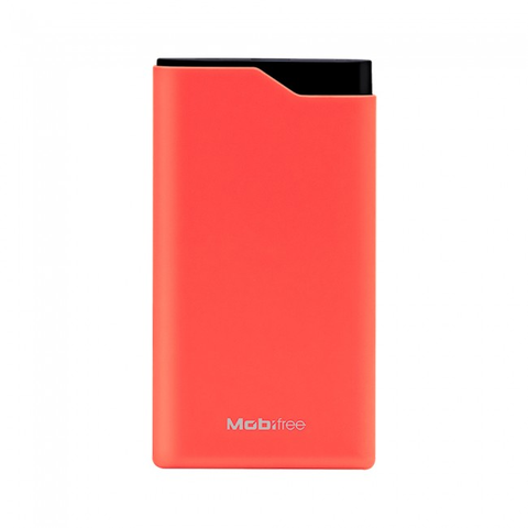Acteck Mobifree Mb 923484 Power Bank 6 K Mah Color Rojo Con Display - ordena-com.myshopify.com