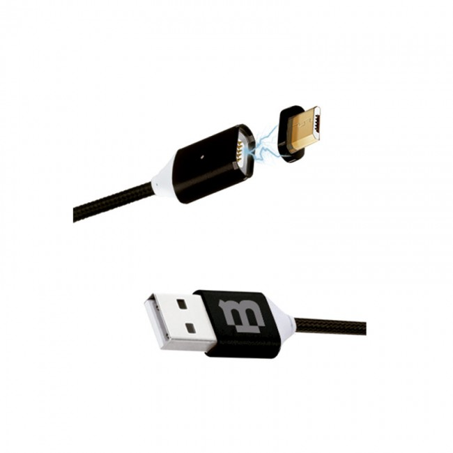 Blackpcs Cablmtm 4 Cable V8 Negro 100 Cm 2a