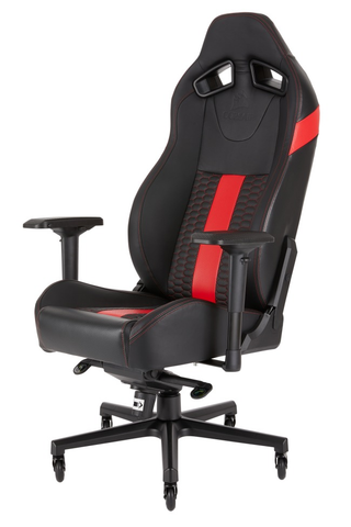 Corsair Cf 9010008 Ww Silla Gaming T2 Road Reclinable 4 D Negro Rojo