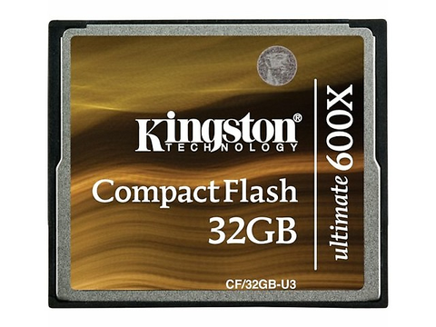 Kingston Cf/32 Gb U3, Memoria Compact Flash 32 Gb Ultime 600 X - ordena-com.myshopify.com