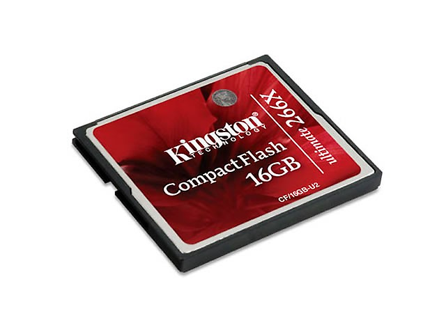 KINGSTON CF/16GB-U2, Memoria Compact Flash 16 GB