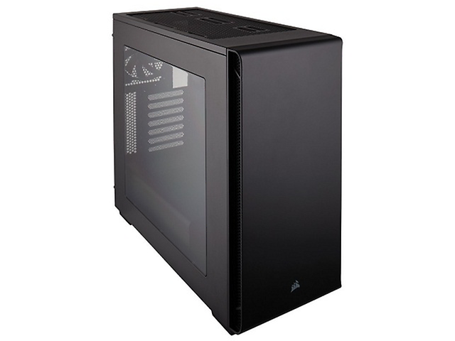 CORSAIR Carbide 270R Gabinete Ventana LED Rojo, Midi-Tower USB 3.0 Negro