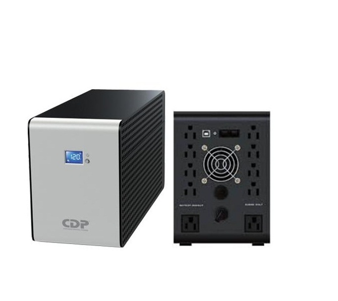 Cdp R-smart1510 No Break/ups 1500va/900w 10 Cont Lcd Reg. Ba
