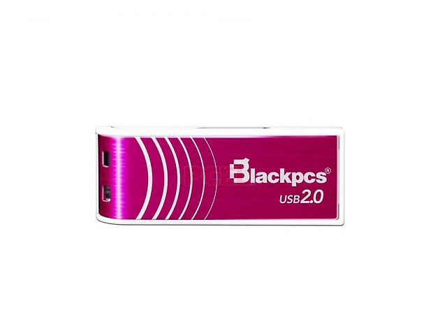 BlackPCS MU2103P Memoria Flash 32GB USB 2.0 Rosa Aluminio Plastico