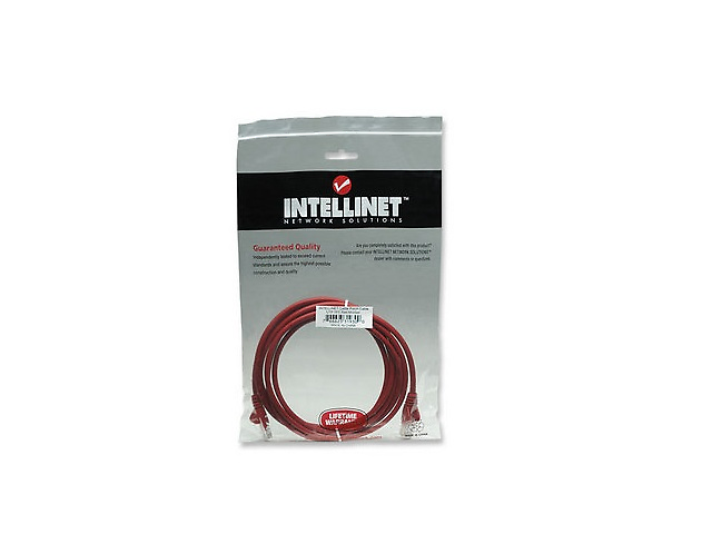 INTELLINET 319300 CABLE PATCH CAT 5E, UTP 7.0F 2.0MTS COLOR ROJO