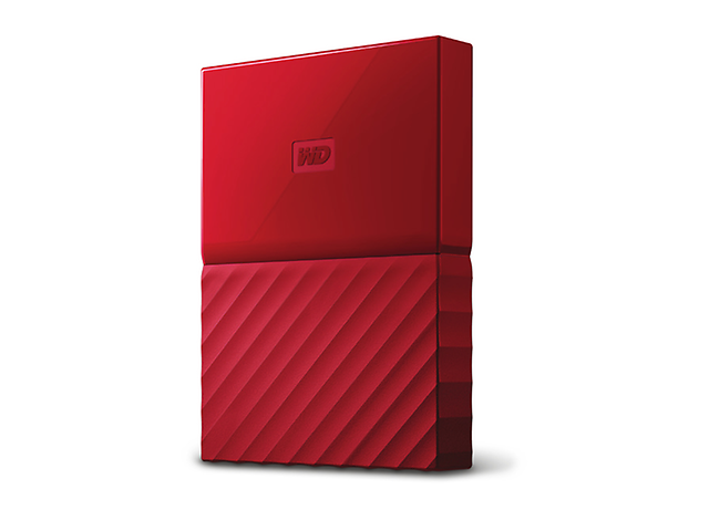Western Digital My Passport Disco Duro Externo,3TB, USB 3.0 Type A, Rojo