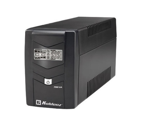 Koblenz 7011 Usbr No Break 700va/360w, Lcd, 6 Contactos, Sup