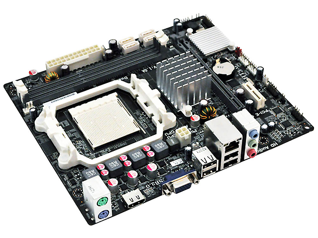 ECS A960M-MV Tarjeta 2DDR3 2PCIe HDMI Sock AM3 plus